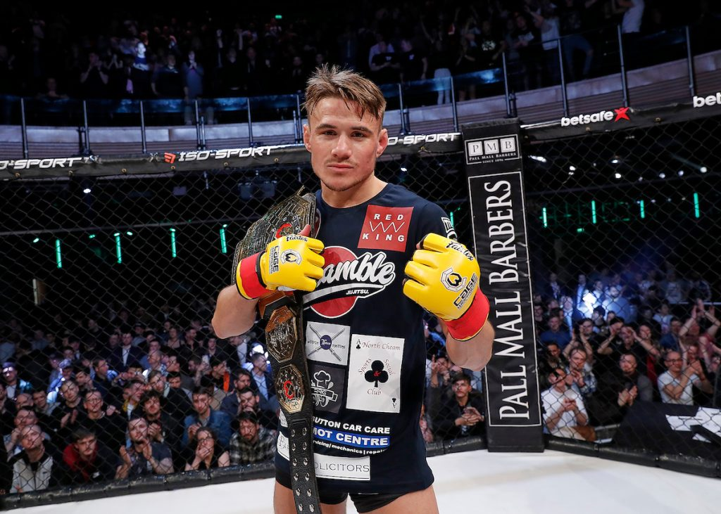 Nathaniel 'The Prospect' Wood the prospect mma
